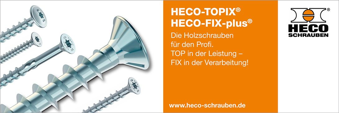 HECO-TOPIX® & HECO-FIX-plus®